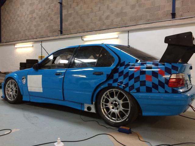 BMW M3 Race Car
