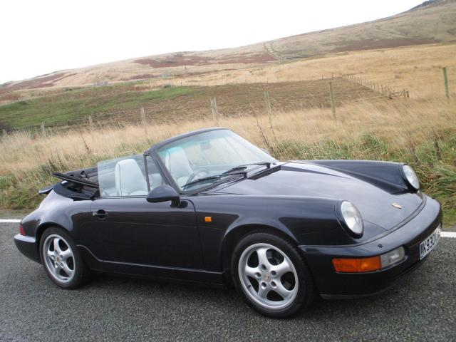 Porsche 964 Carrera Convertible